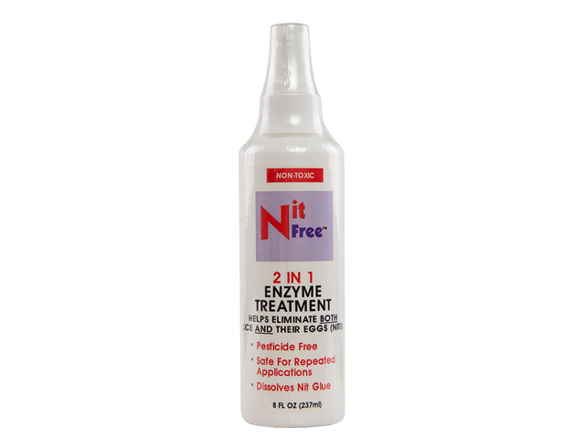 Nit Free 2 in 1 Enzyme Treatment